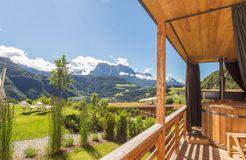 Biohotel Pennhof: Chalet Castanea - Pennhof, Barbian (Bozen), Trentino-Südtirol, Italien
