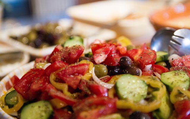 Biohotel Mani Sonnenlink: Griechischer Salat