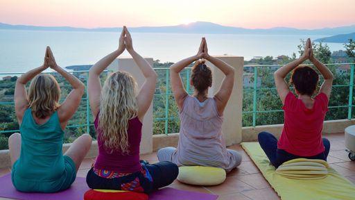 Biohotel Mani Sonnenlink Urlaub Griechenland Yoga Meer