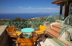 Biohotel Mani Sonnenlink: Sonnenhaus Terrasse - Mani Sonnenlink, Pyrgos-West Mani, Griechenland