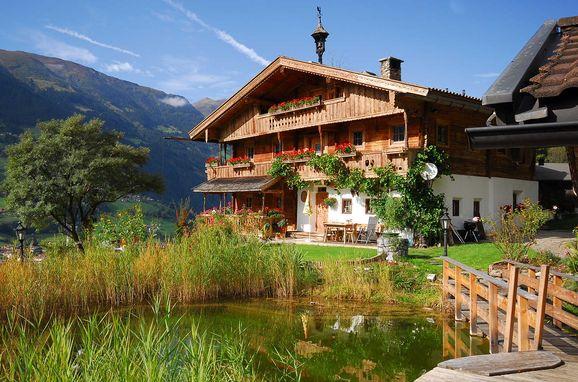 Summer, Bergchalet Klausner Edelweiß in Ramsau im Zillertal, Tirol, Tyrol, Austria