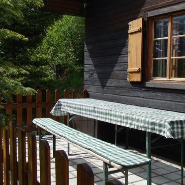 Terrasse, Guidos Panoramahütte, Vordernberg, Steiermark, Steiermark, Österreich