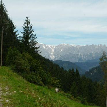 Holzenhütte, Aussicht Sommer