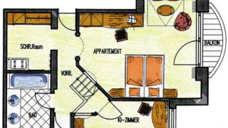 Senior Suite Franz Josef 2/2