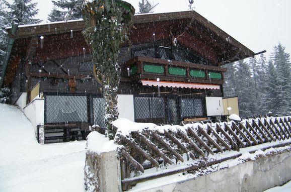 Winter, Berghütte Inntalblick in Niederndorferberg Praschberg, Tirol, Tirol, Österreich
