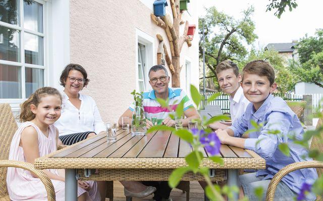 Biohotel zur Post: Gastgeberfamilie Maier
