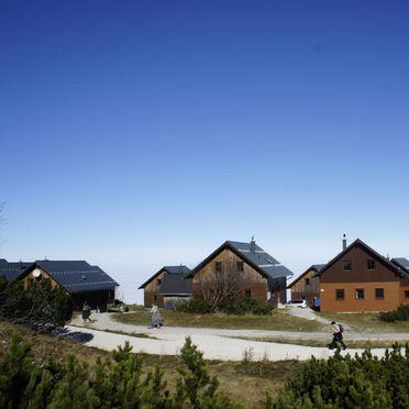 Sommer, Erlakogelhütte am Feuerkogel, Ebensee, Oberösterreich, Oberösterreich, Österreich