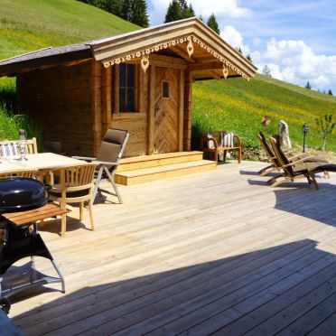 Chalet Alpenglück, Saunahäuschen