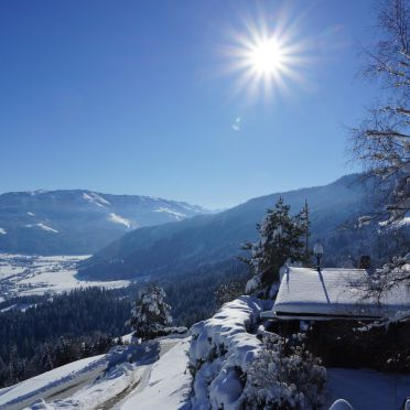 Winter, Chalet Alpenglück, Kitzbühel, Tirol, Tirol, Österreich