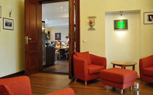 Eingangshalle und Speisesaal