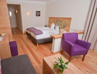 Doppelzimmer Wanneck - Bio-Wellnesshotel Holzleiten