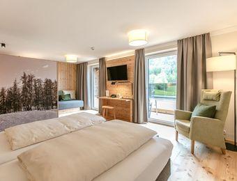 Doppelzimmer Simmering Deluxe - Bio-Wellnesshotel Holzleiten