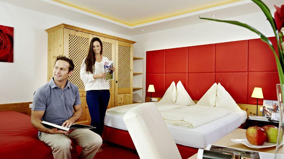 Alpine lodge family suite
