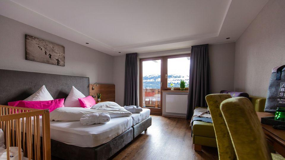Zwei-Raum Familien Suite