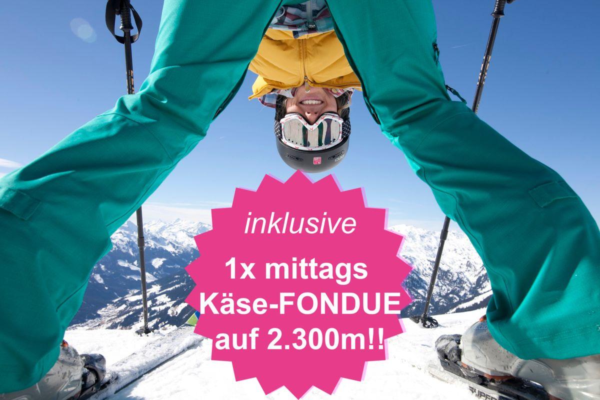 Ski Closing Deluxe 7=6 Special inkl. KÄSE-FONDUE | 10.04.-19.04.2020 für 7 ÜN