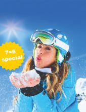 Ski Classic Deluxe 7=6 Special | 1 day & 1 night for free