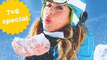Ski Opening Deluxe 7=6 Special | 1 dag en 1 nacht gratis