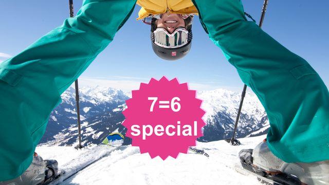 Ski Closing 7=6 Special | 1 Tag & 1 Nacht geschenkt