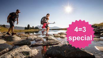 BergLIEFDE 4=3 Special | 1 dag en 1 nacht gratis