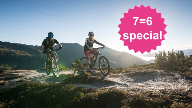 E-BikeLiebe 7=6 Special | 1 Tag & 1 Nacht geschenkt