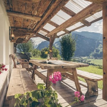 Bergchalet Klausner Enzian, terrace