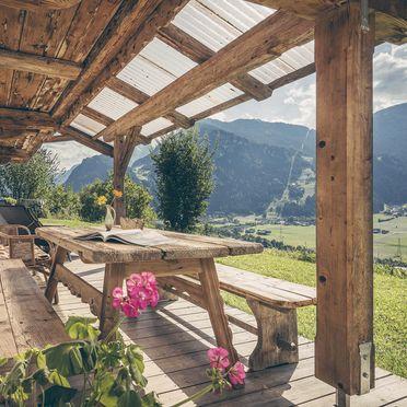 terrace, Bergchalet Klausner Enzian, Ramsau im Zillertal, Tirol, Tyrol, Austria