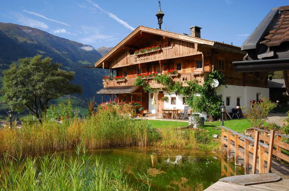 Summer, Bergchalet Klausner Kuschelsuite in Ramsau im Zillertal, Tirol, Tyrol, Austria