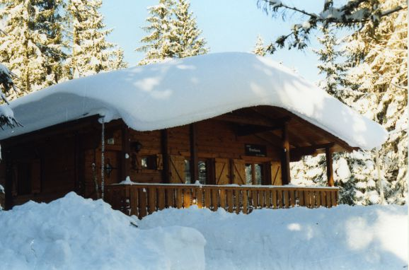 Winter, Alpen-Chalets Haus Bernadette in Maurach am Achensee, Tirol, Tirol, Österreich