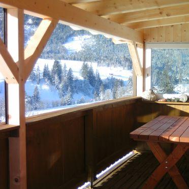 Aussicht, Blockhütte Mühlegg, Steinberg am Rofan, Tirol, Tirol, Österreich