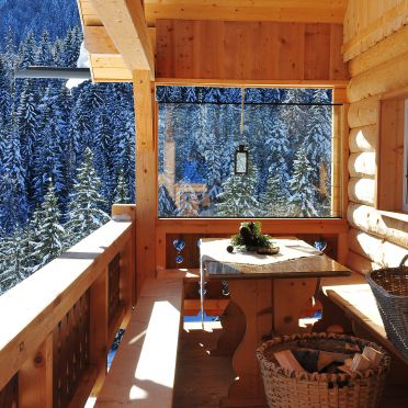 Balkon, Hütte Höhenegg, St. Martin, Salzburg, Salzburg, Österreich