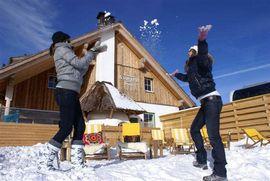 Almzeithütte - Winterurlaub im Wellnesshotel Hochschober