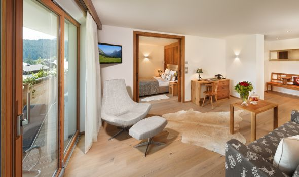 Suite Alpenveilchen 2 im Quellenhaus