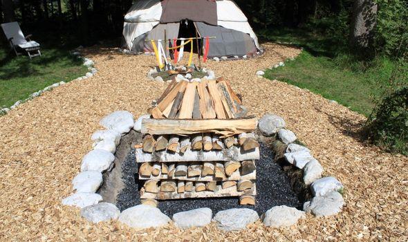 Native American sauna days