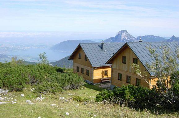 Sommer, Steinkogelhütte am Feuerkogel, Ebensee, Oberösterreich, Oberösterreich, Österreich