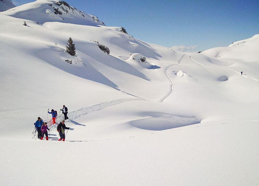 Wandern und Wellness Winter