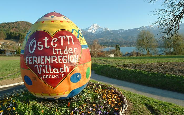 Easter on the lake Faak