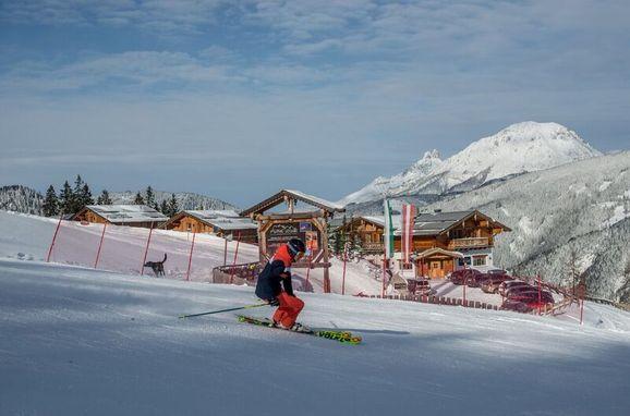 Winter, Chalet Mitterspitz in Pichl, Schladming-Dachstein, Steiermark, Österreich