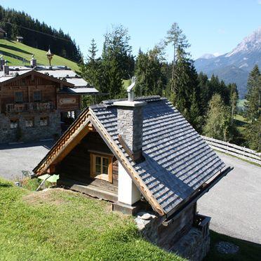 Summer, Oberprenner Almchalet, Haus im Ennstal, Schladming-Dachstein, Styria , Austria