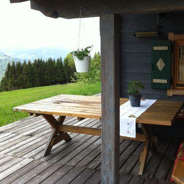 Reitlehen Hütte, Terrasse