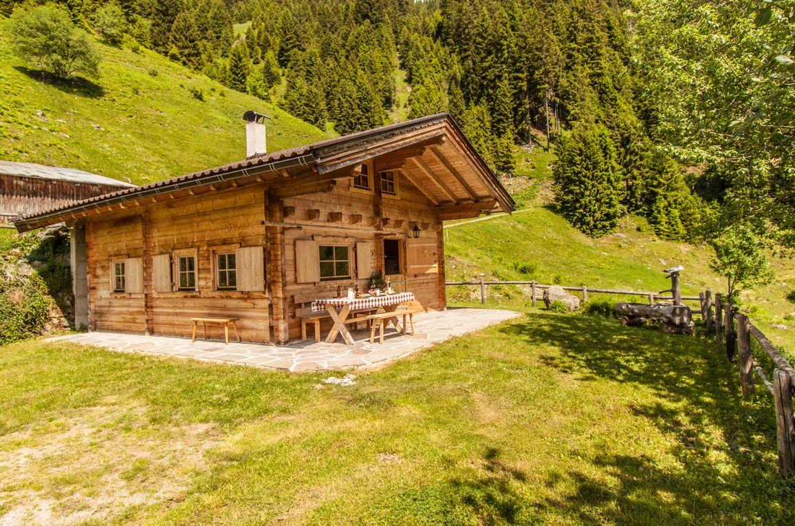 Berghütte Kelchsau, Sommer