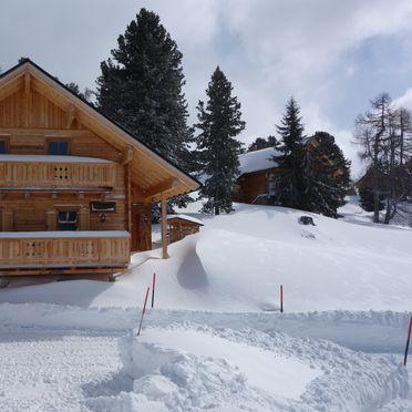 Holzknechthütte, Winter