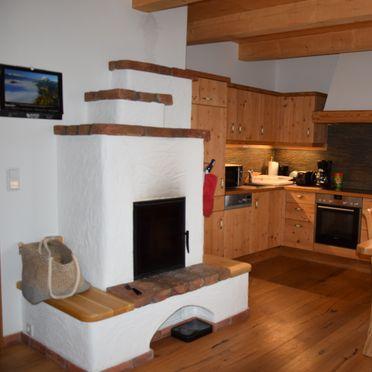 Kitchen, Holzknechthütte in Aich, Steiermark, Styria , Austria
