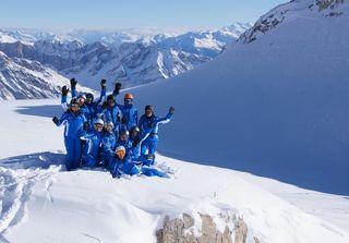 Semaine de ski tours débutants