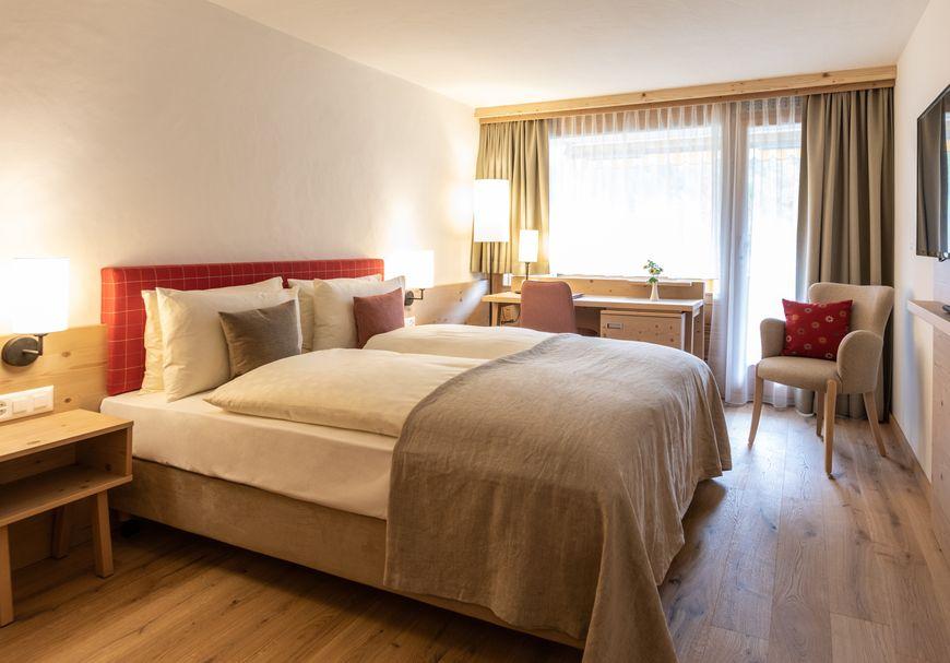 """Chambre grand lit sud avec balcon """"Comfort"""""""