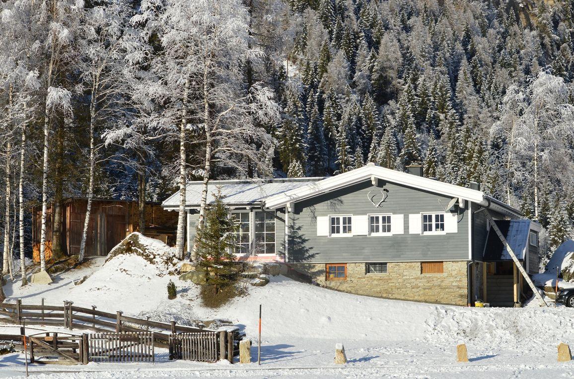 Chalet Schareck, Winter