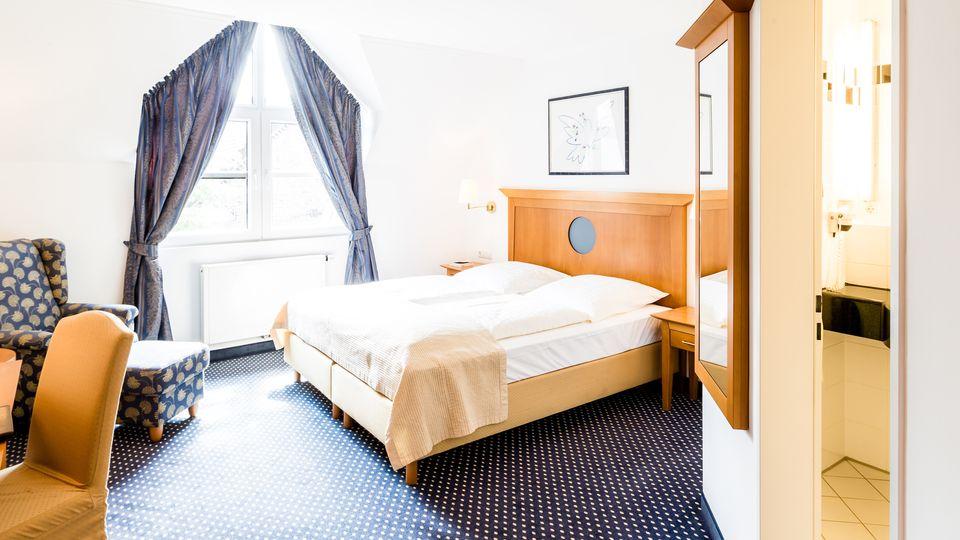 """Schlafzimmer """"Landaktiv"""" Landhotel Voshövel"""