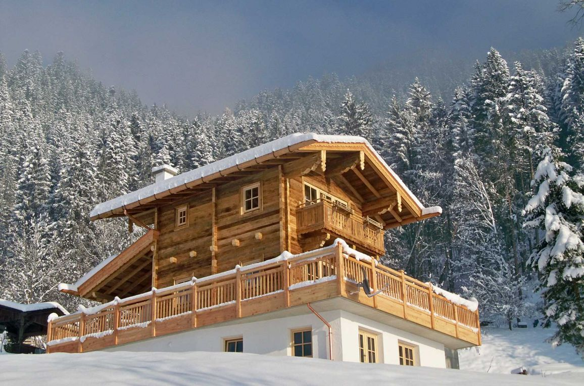 Bergchalet Klausner Die Hütte, Winter