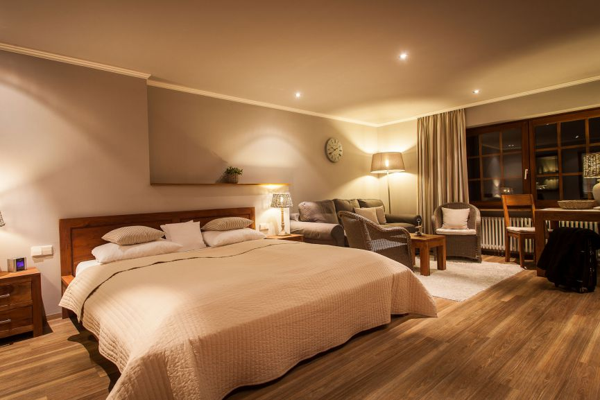 Bella Vista Zimmer im Romantik Hotel zur Sonne in Badenweiler