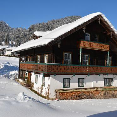 Winter, Bauernhaus Lammertal, St. Martin, Salzburg, Salzburg, Österreich