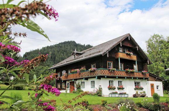 Sommer, Bauernhaus Lammertal in St. Martin, Salzburg, Salzburg, Österreich